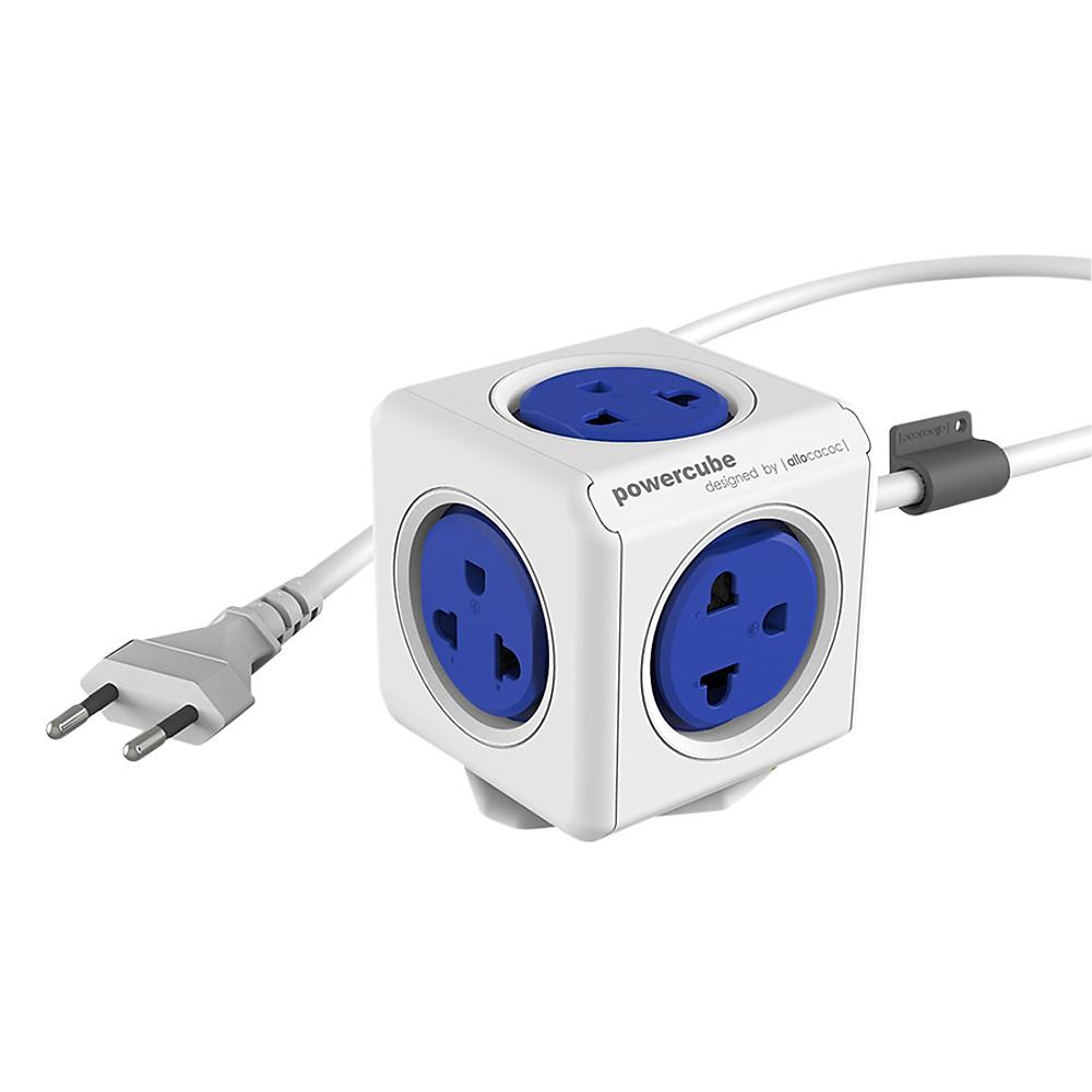 So Sánh Giá Ổ Cắm Điện Allocacoc PowerCube Extended 2 Sạc USB - Màu Ngẫu Nhiên (1.5m)