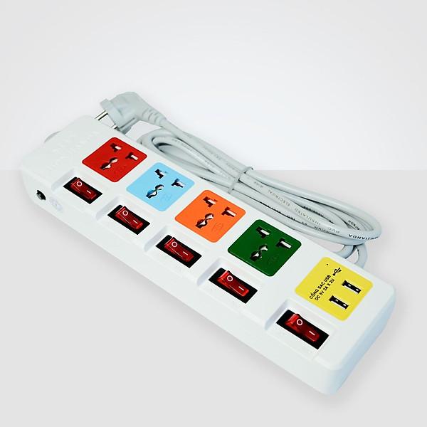 So Sánh Giá Ổ Cắm điện đa Năng Honjianda HJD-0655B