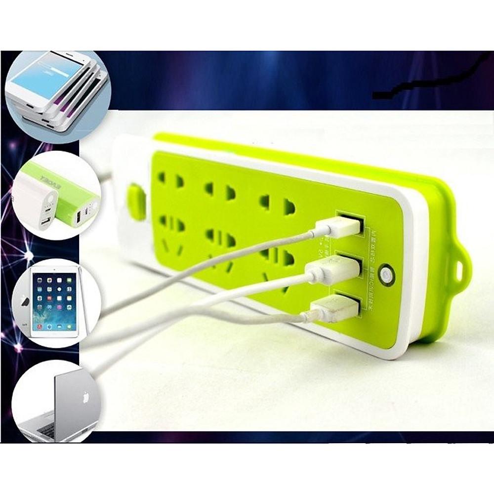 Đánh giá Ổ Điện Đa Năng Chống Giật 3 Cổng USB và 9 ổ cắm iCART
