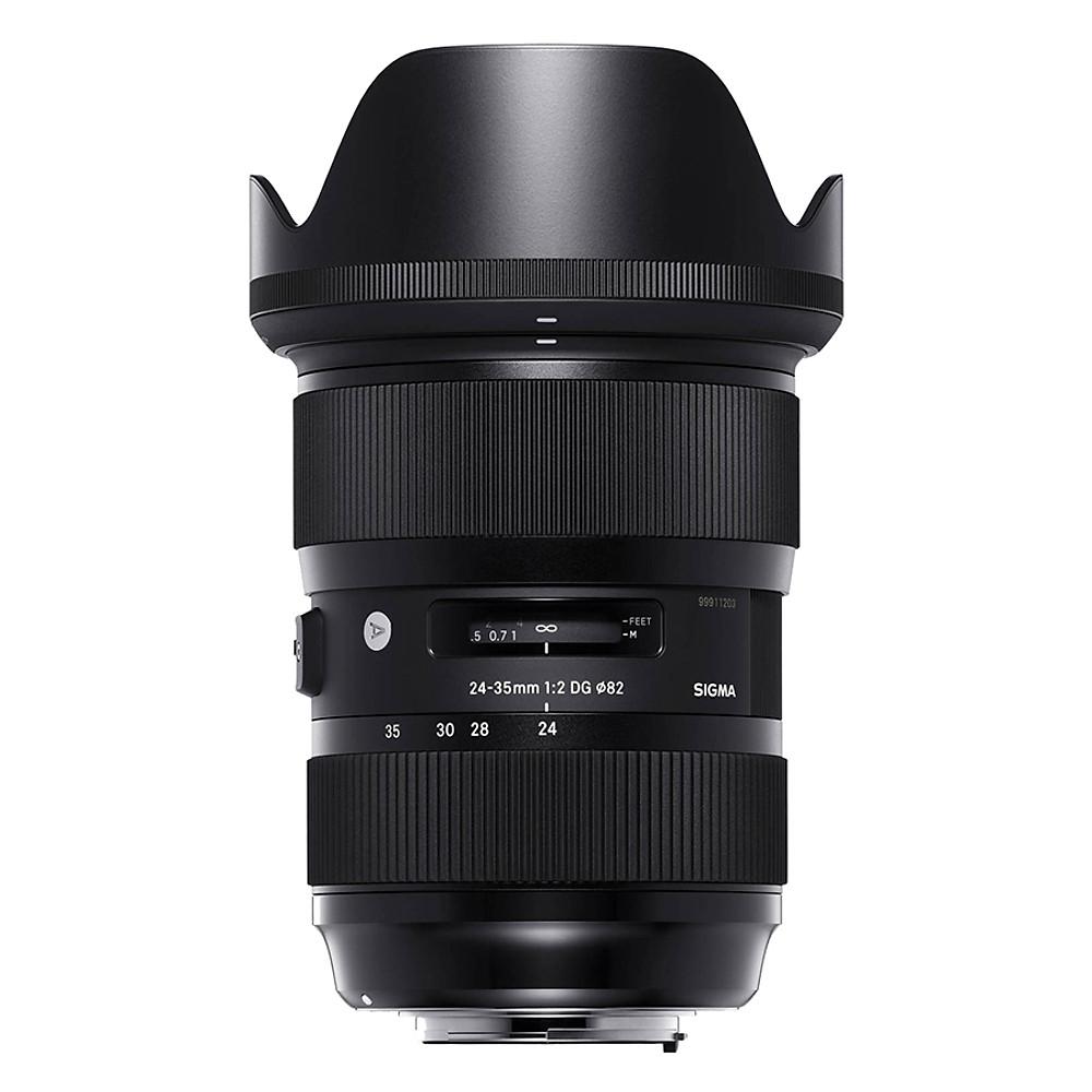 So Sánh Giá Ống Kính Sigma 24-35 F2 DG HSM For Nikon - Hàng Chính Hãng