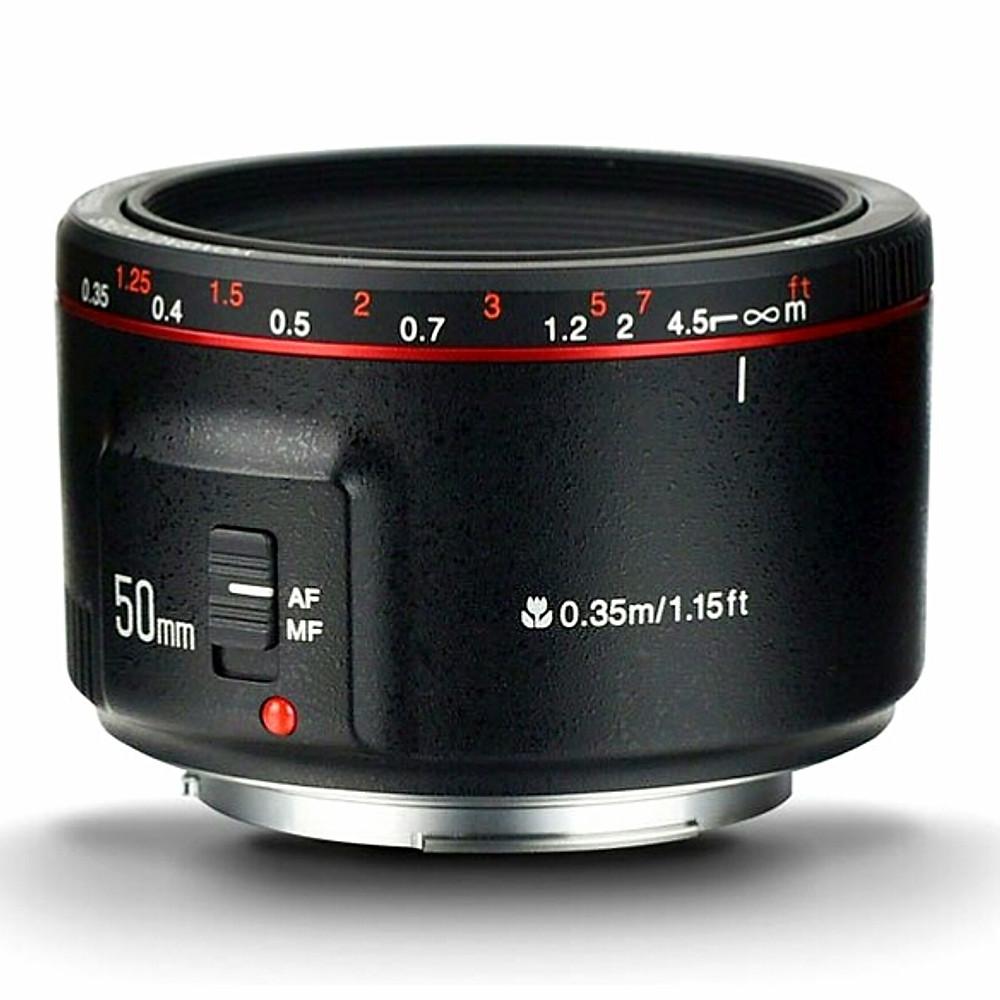 Review Ống kính Yongnuo 50mm F1