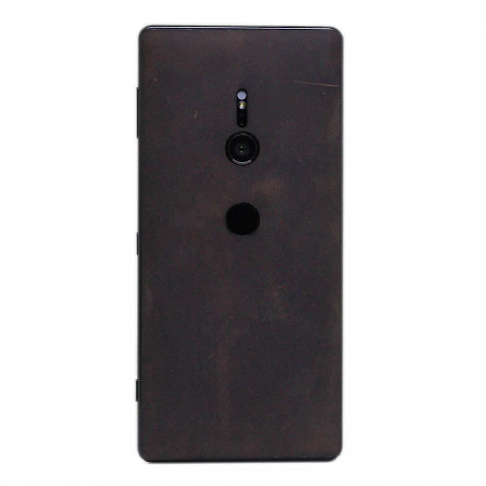 Đánh giá Ốp da dán cho Sony Xperia XZ2 - Da thật nhập khẩu cao cấp - Davis (Nâu bò sáp)