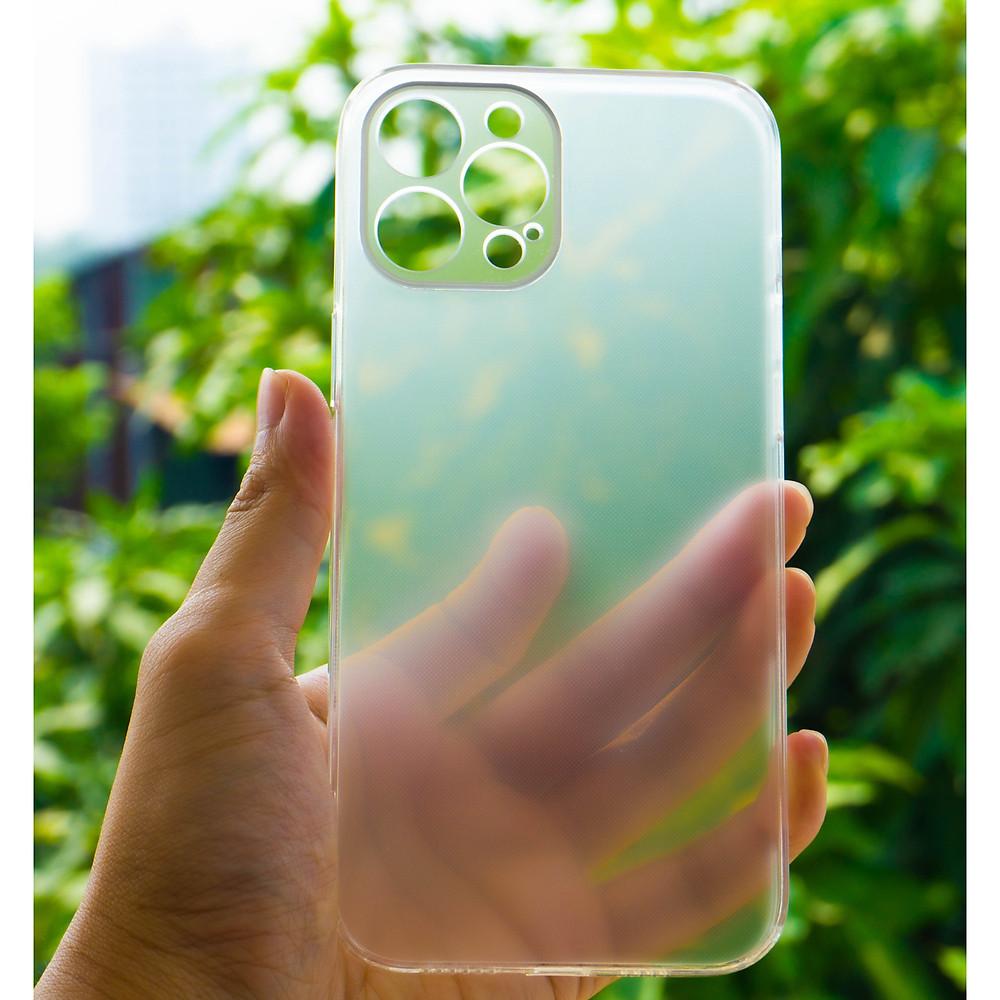 Review Ốp Lưng Cường Lực Viền Trong Suốt Dùng Cho iPhone 12 Pro (6