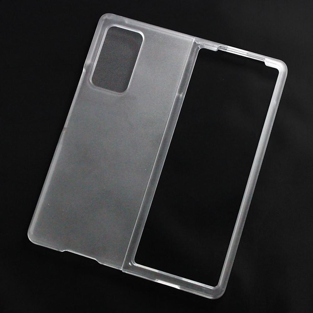 Đánh giá Ốp lưng dành cho Samsung Galaxy Fold 2 nhựa cứng nhám trong