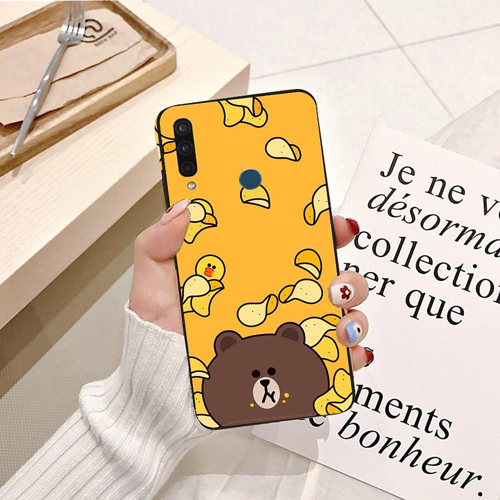 Đánh giá Ốp lưng điện thoại VSMART JOY 3 viền silicon dẻo hình Gấu Nâu Cute - Hàng chính hãng