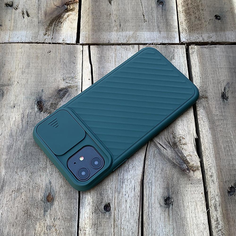 Đánh giá Ốp lưng kéo nắp camera cao cấp dành cho iPhone 11 - Màu Xanh