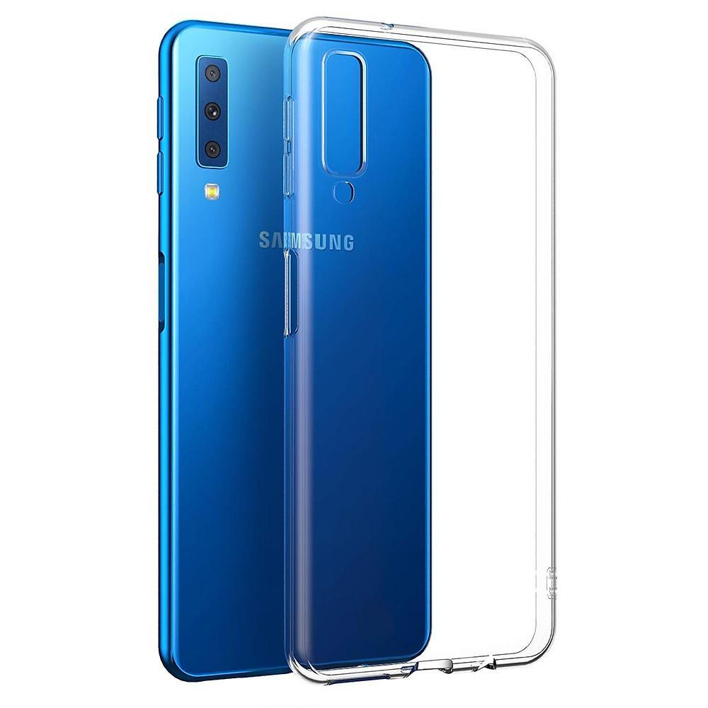 Đánh giá Ốp lưng silicon dẻo trong suốt Loại A cao cấp cho Samsung Galaxy A7 2018
