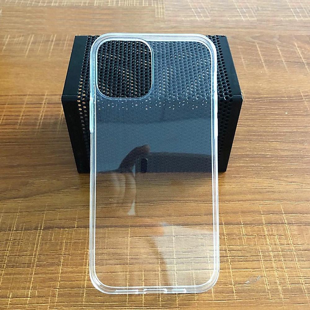 Đánh giá Ốp lưng Silicone dẻo trong suốt dành cho iPhone 12 Pro Max loại A+ mỏng 0