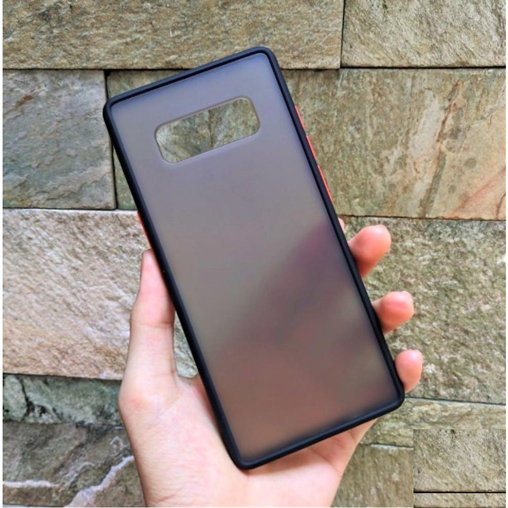 Đánh giá Ốp lưng trong nhám viền màu chống sốc cho SamSung Galaxy Note 8