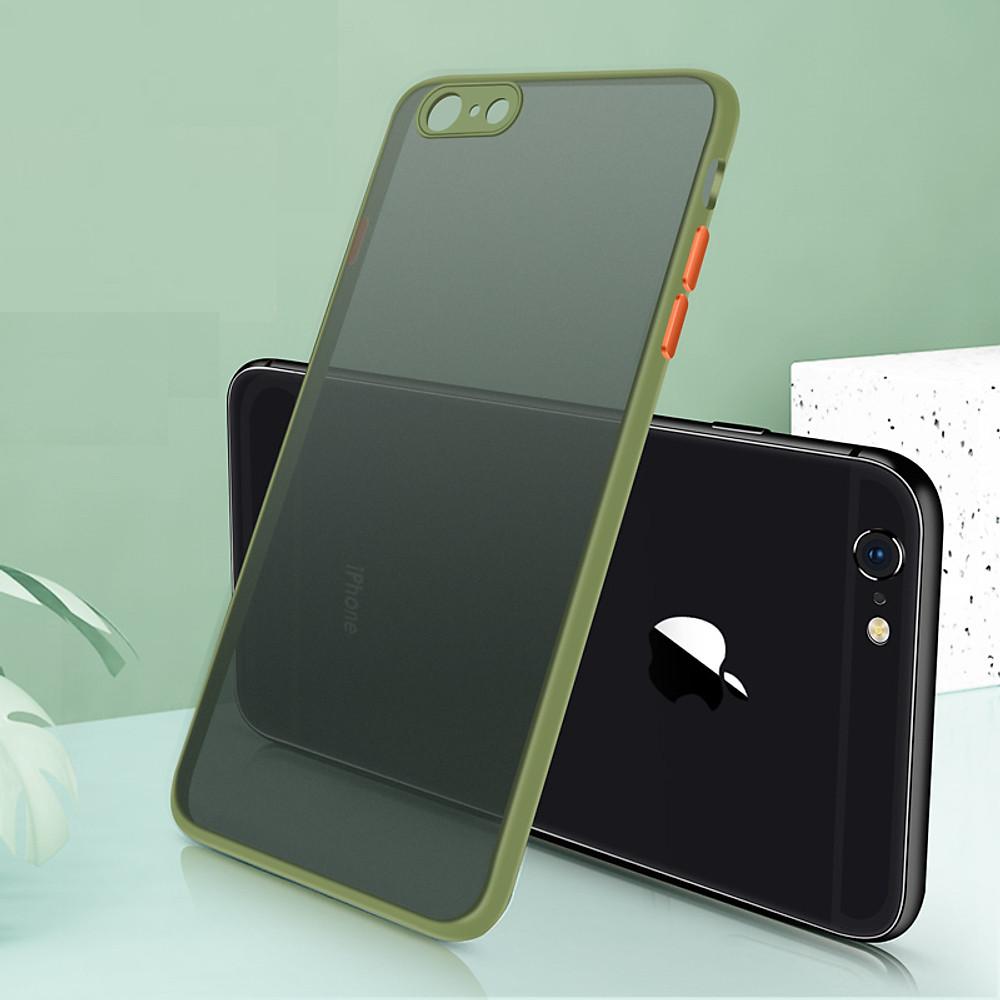 Đánh giá Ốp lưng trong nhám viền Shield Matte Color bảo vệ camera cho iPhone 6 Plus