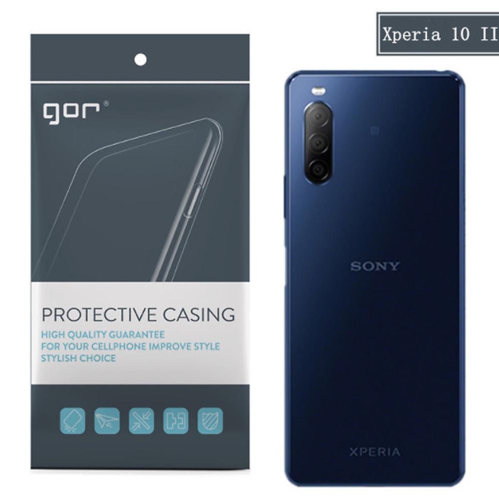 Đánh giá Ốp silicon cho Sony Xperia 10 II (mark 2) - Silicon trong suốt hãng GOR Hàng nhập khẩu