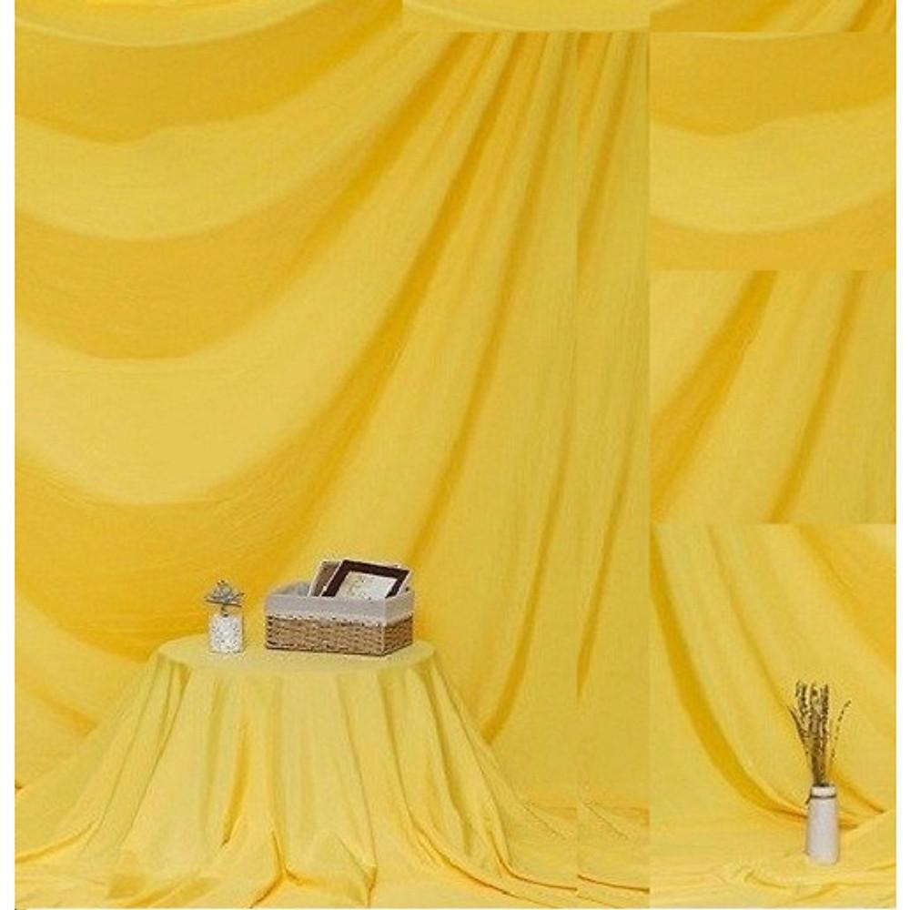 So Sánh Giá Phông Vải đơn Sắc Vàng 2.9x3m