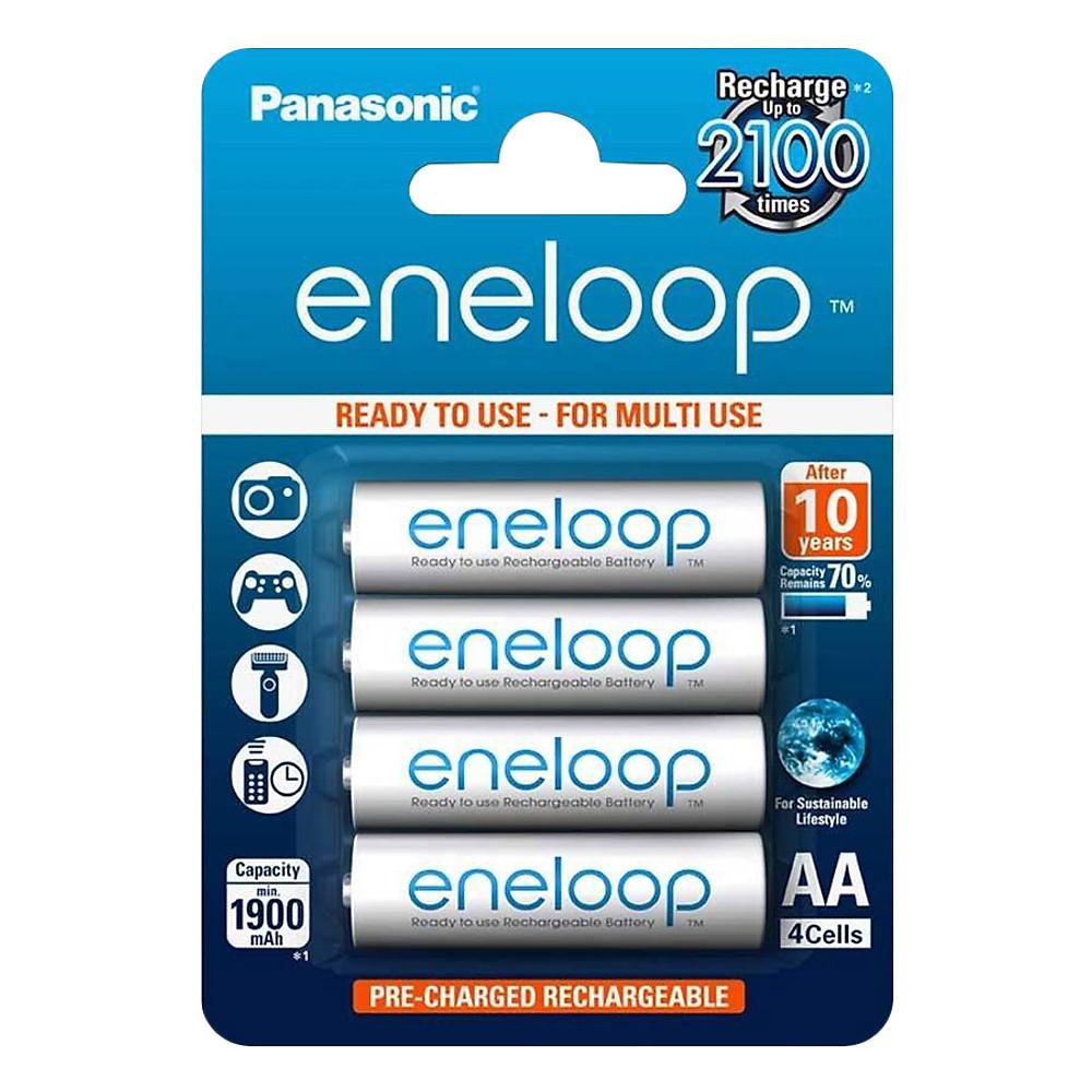 Review Pin sạc AA - Panasonic - Eneloop 1900mah - Hàng Nhập Khẩu