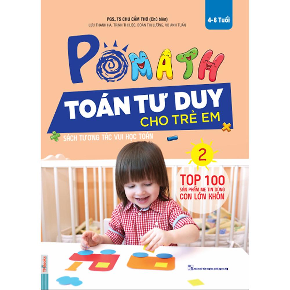 Review POMath - Toán Tư Duy Cho Trẻ Em 4-6 Tuổi (Tập 2)
