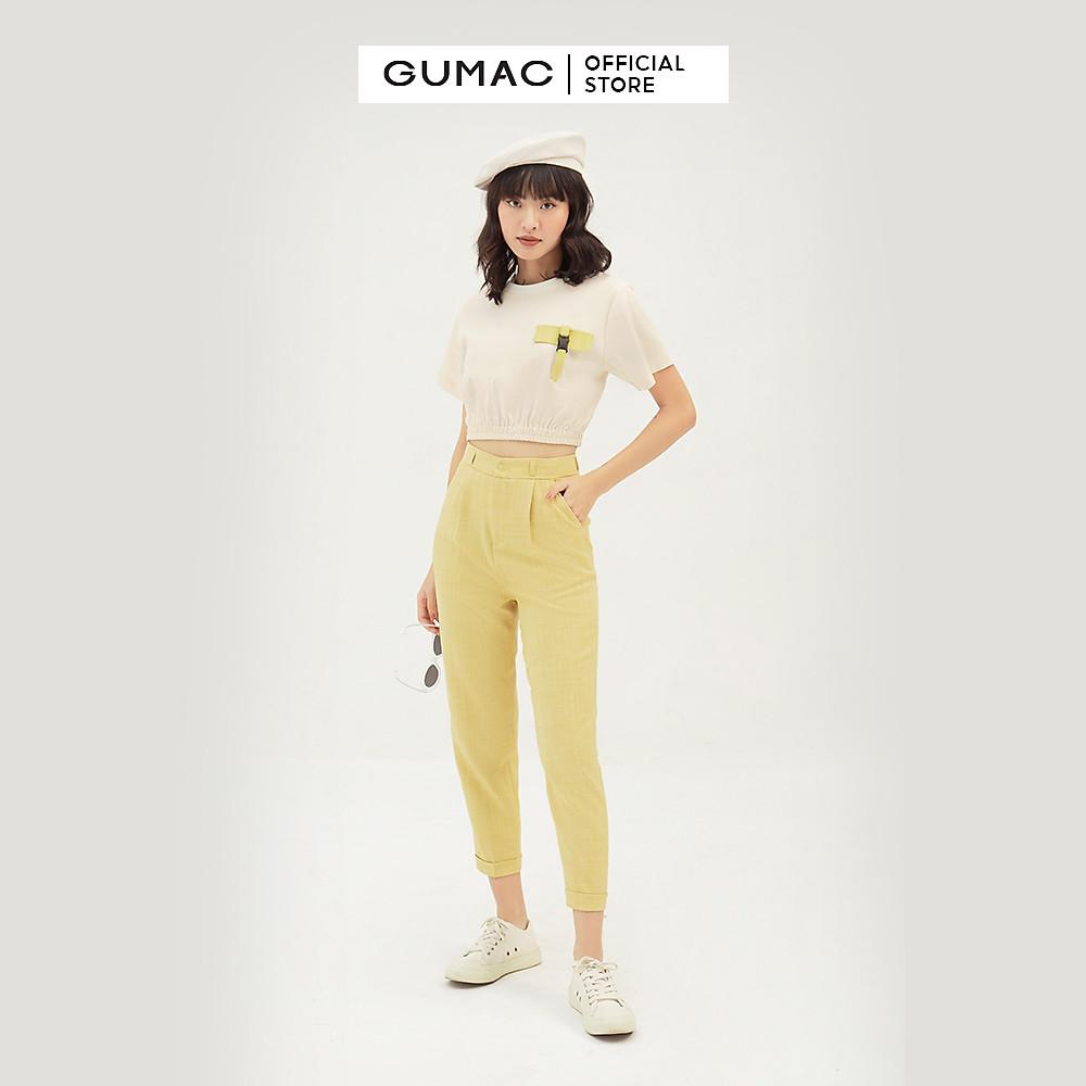 Đánh giá Quần tây nữ thiết kế lật lai GUMAC QB339