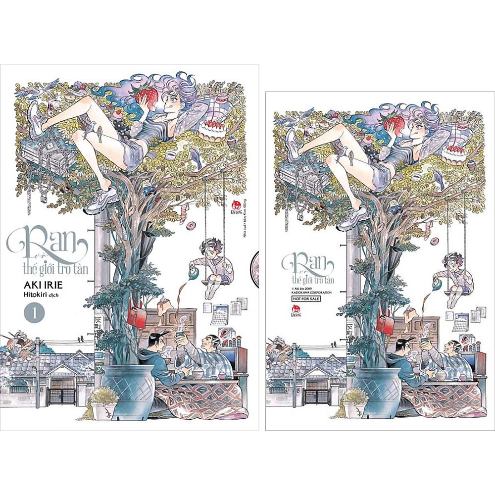 Review Ran Và Thế Giới Tro Tàn - Tập 1 (Tặng Kèm: Postcard)