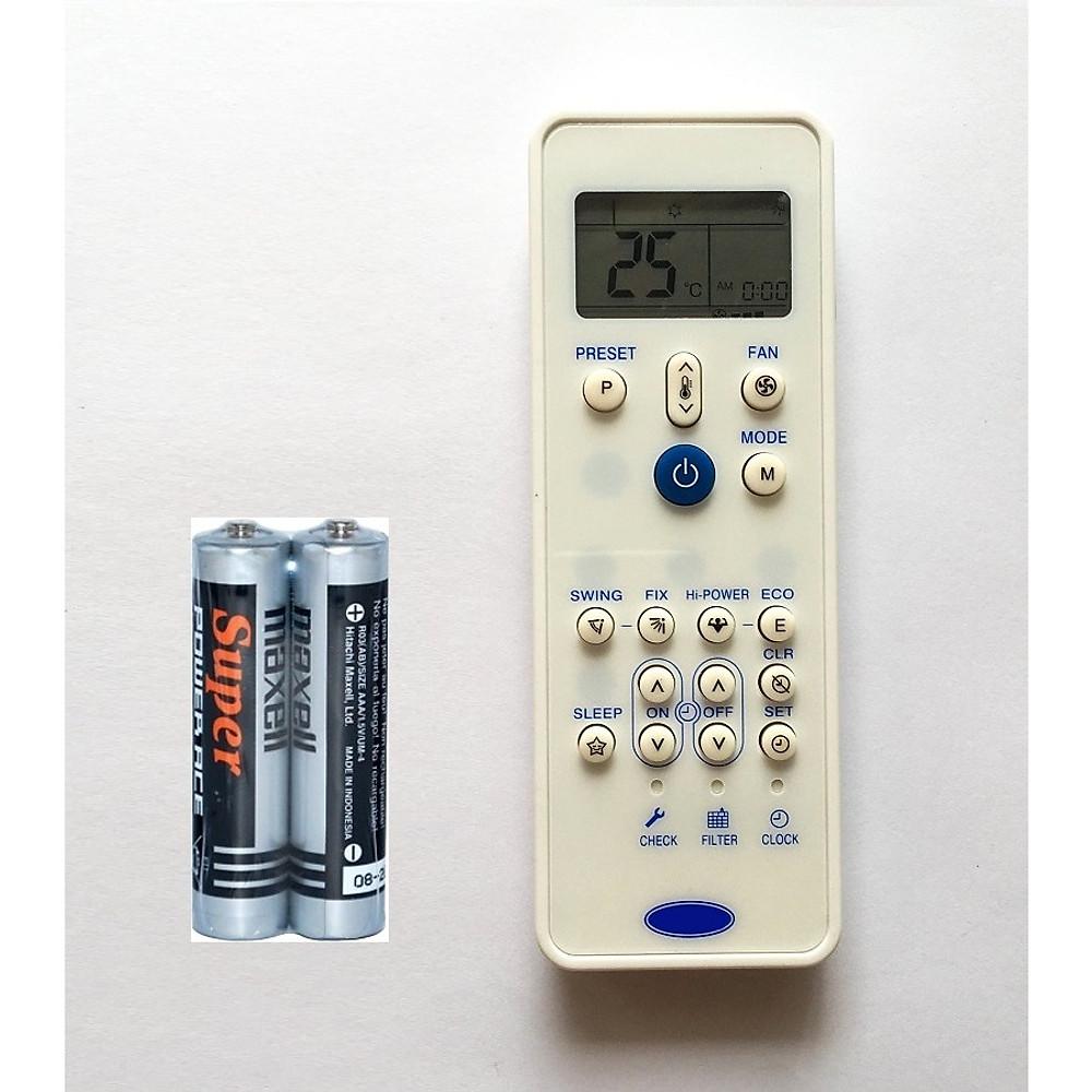 Đánh giá Remote Điều Khiển Cho Máy Lạnh, Máy Điều Hòa Carrier (Kèm Pin AAA Maxell)