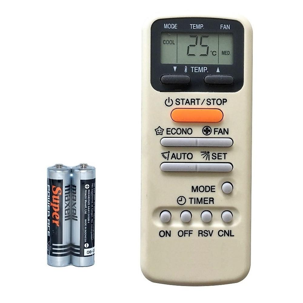 Đánh giá Remote Điều Khiển Dành Cho Máy lạnh, Điều Hòa Toshiba RAS-07GKSX, RAS-10UKPX3-T2 (Kèm pin AAA Maxell)