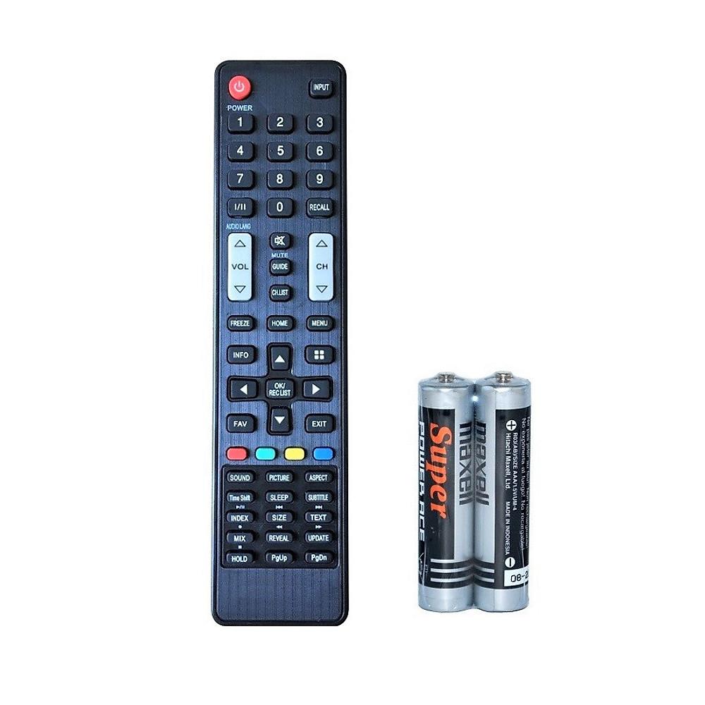 Đánh giá Remote Điều Khiển Dành Cho Smart TV, Internet Tivi ASANZO Home Menu (Kèm Pin AAA Maxell)