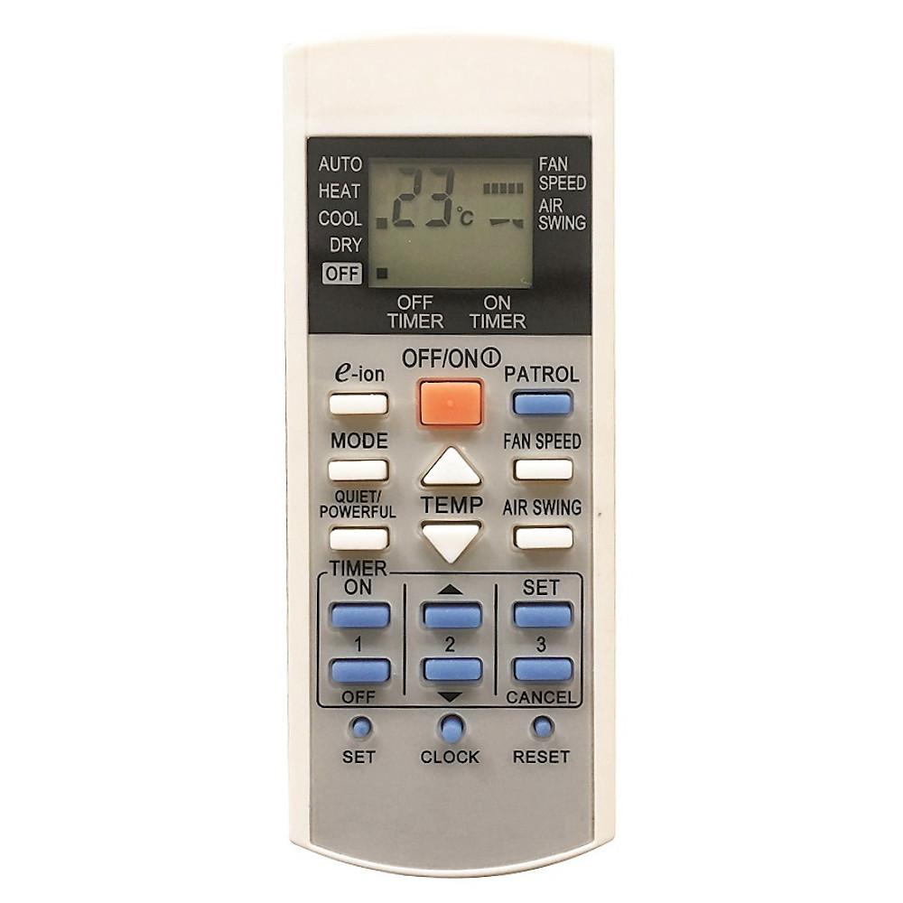 Review Remote Điều Khiển Dùng Cho Máy lạnh, Điều Hòa Panasonic e-ion A75C2817, A75C3298