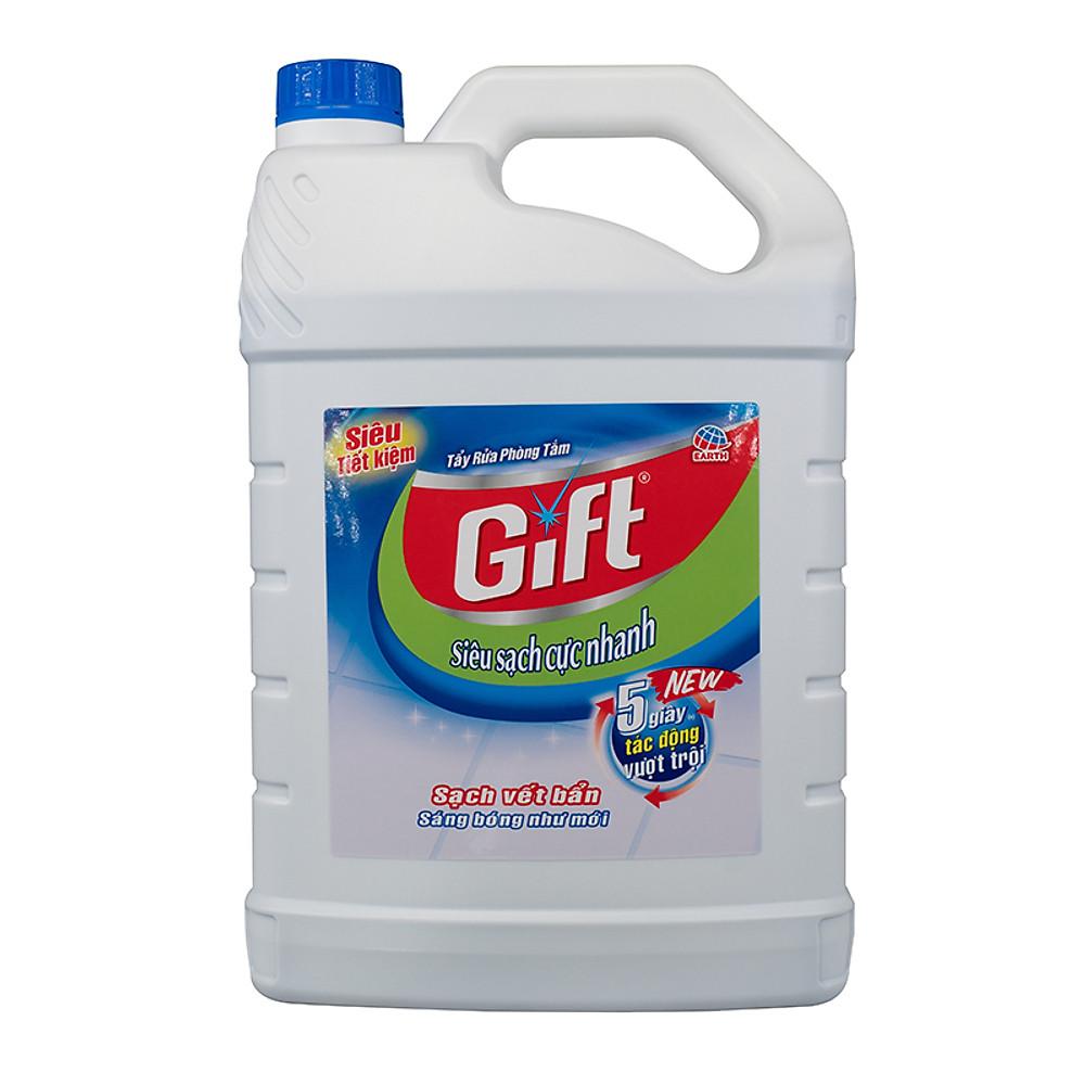 Đánh giá  Rửa nhà tắm Gift Siêu sạch 3