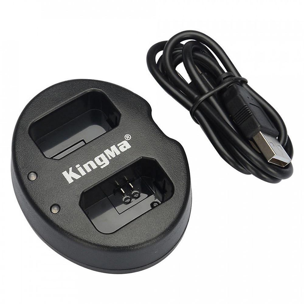 Đánh giá Sạc pin đôi nhanh KingMa cho Sony NP-FW50 A6000 A6300 A6500 - Hàng chính hãng