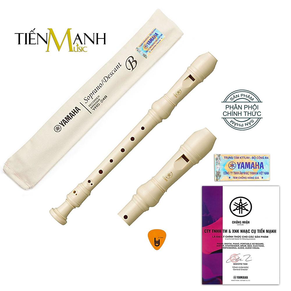 So Sánh Giá Sáo Recorder Soprano Yamaha YRS-24B Tone C (Đô) - Kèm Móng Gảy DreamMaker