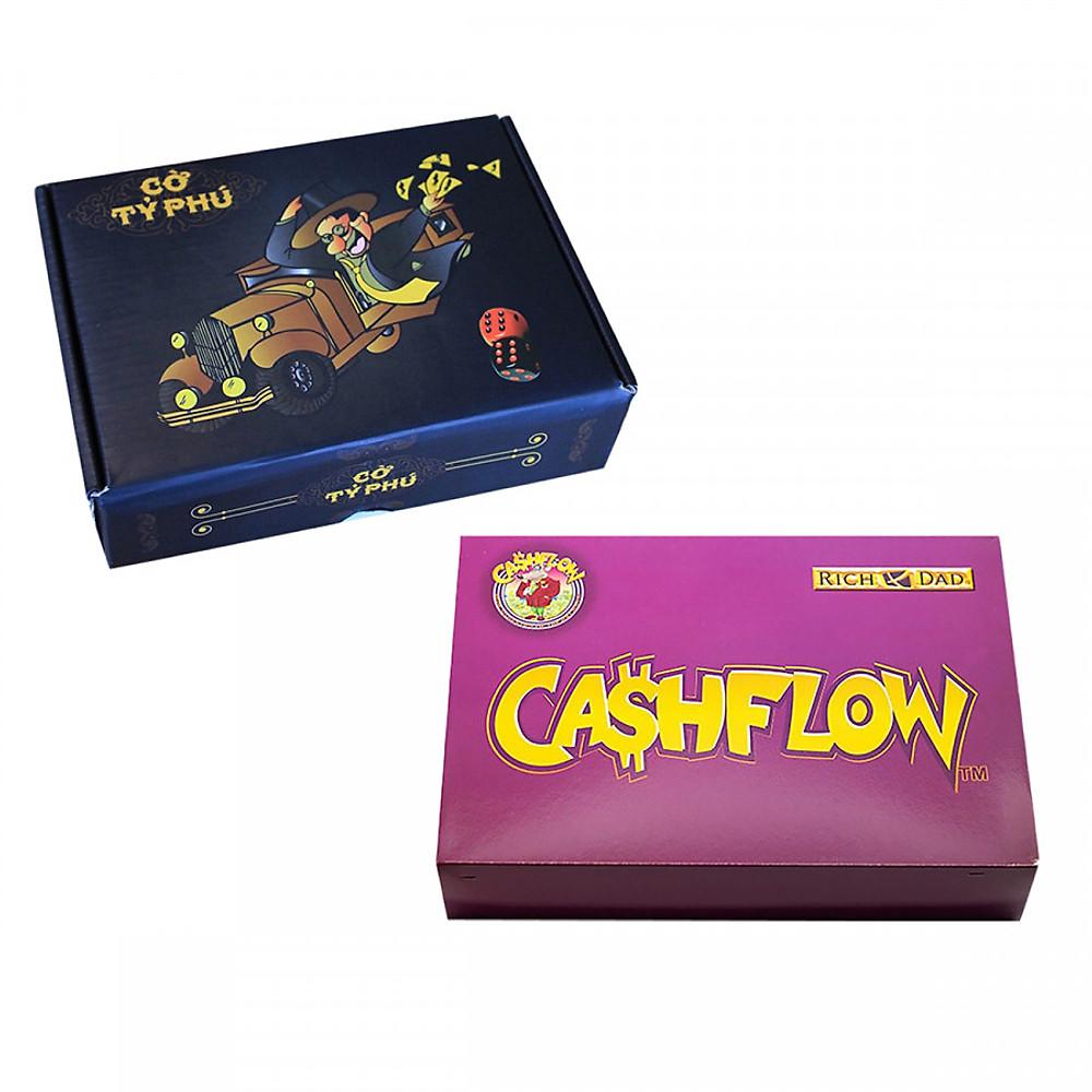 Đánh giá SET Học Làm Giàu: Combo CashFlow + Cờ Tỷ Phú Việt Nam
