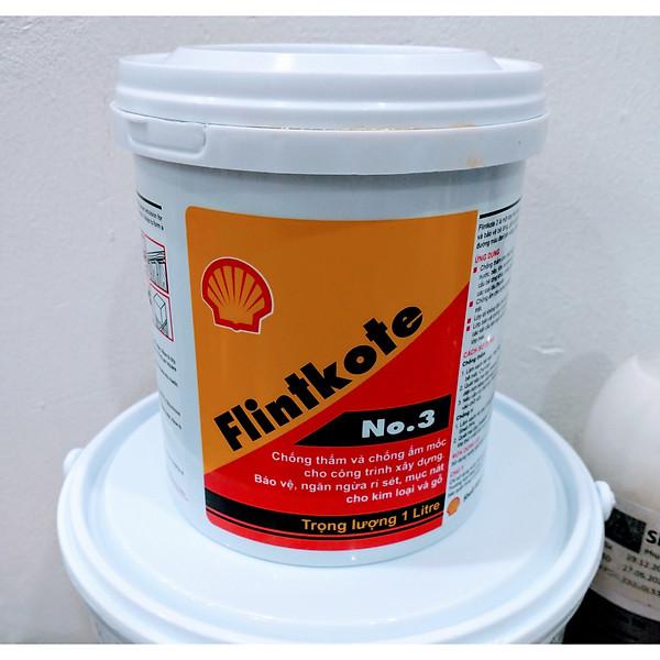 So Sánh Giá Shell Flintkote 3 Sơn Chống Thấm Bể Nước Hồ Cá Koi (1kg Và 3,5kg)