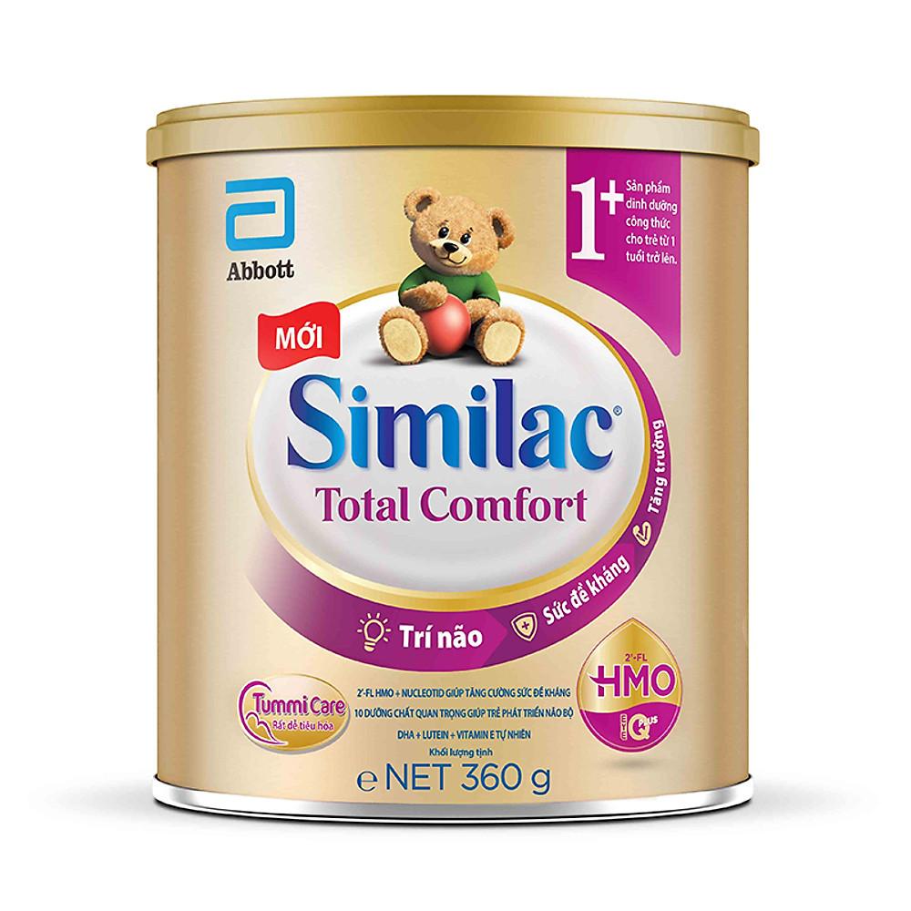 Đánh giá Sữa bột Similac Total Comfort 1+ (cho trẻ 1-2 tuổi) - dành cho bé rối loạn tiêu hóa, táo bón, trào ngược [Mẫu mới]