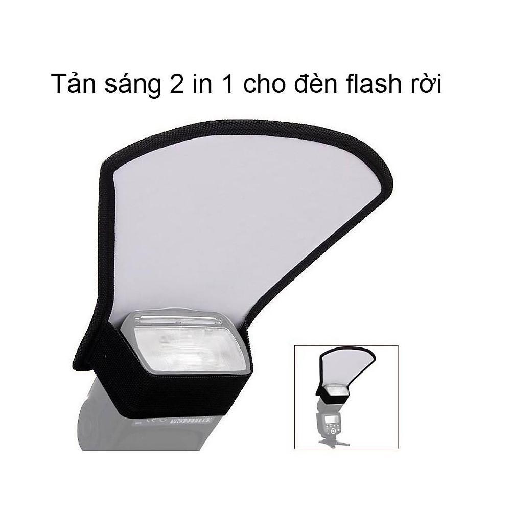 So Sánh Giá Tản Sáng 2in1 Cho đèn Flash Rời