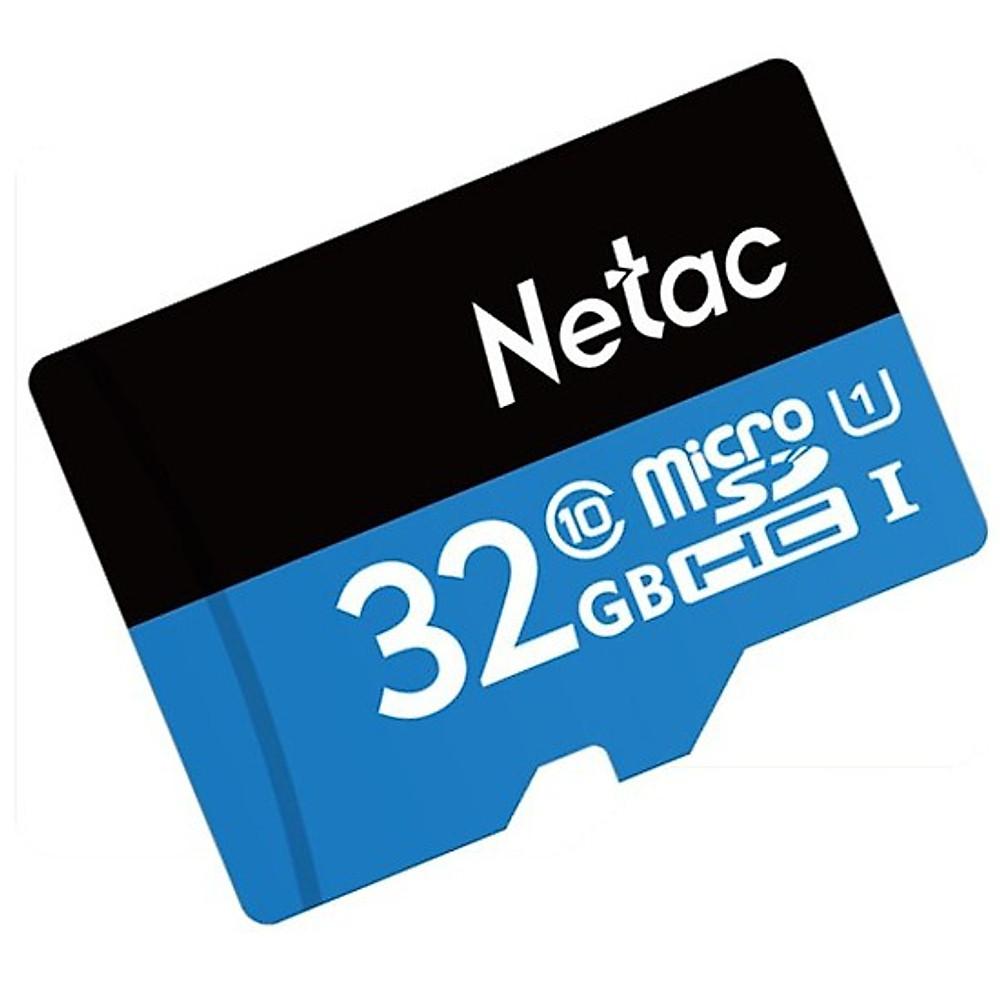 Review Thẻ Nhớ Class 10 Micro SDHC Netac 32Gb - Hàng Chính Hãng