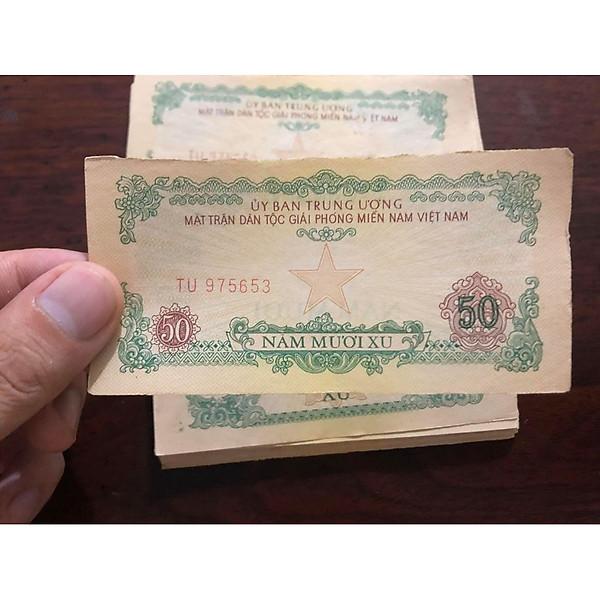 So Sánh Giá Tờ 50 Xu ủy Ban Mặt Trận Giải Phóng Miền Nam 1963, Tiền Cổ Sưu Tầm