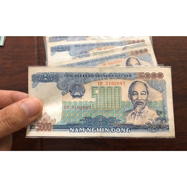 So Sánh Giá Tờ 5000 đồng Việt Nam 1987, Tiền Cổ Thời Bao Cấp Lưu Hành Trong Thời Gian Rất Ngắn