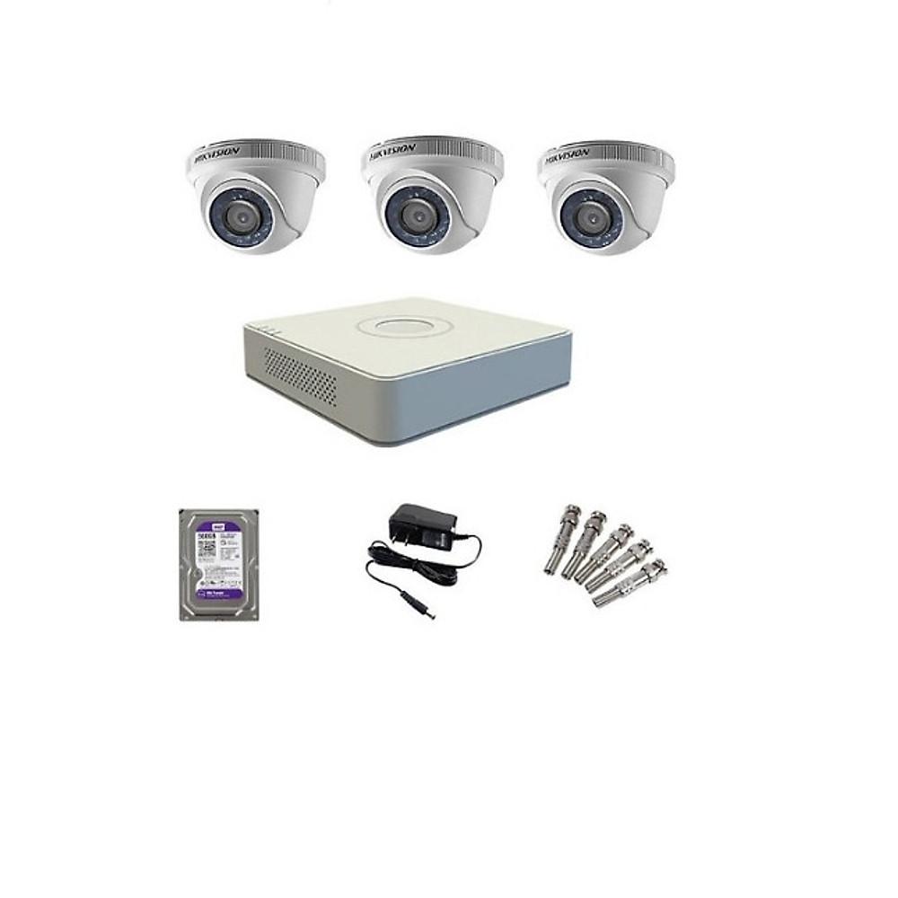 So Sánh Giá Trọn Bộ 3 Camera Hikvision 1080P (Nhà Riêng, Văn Phòng) Hàng Chính Hãng