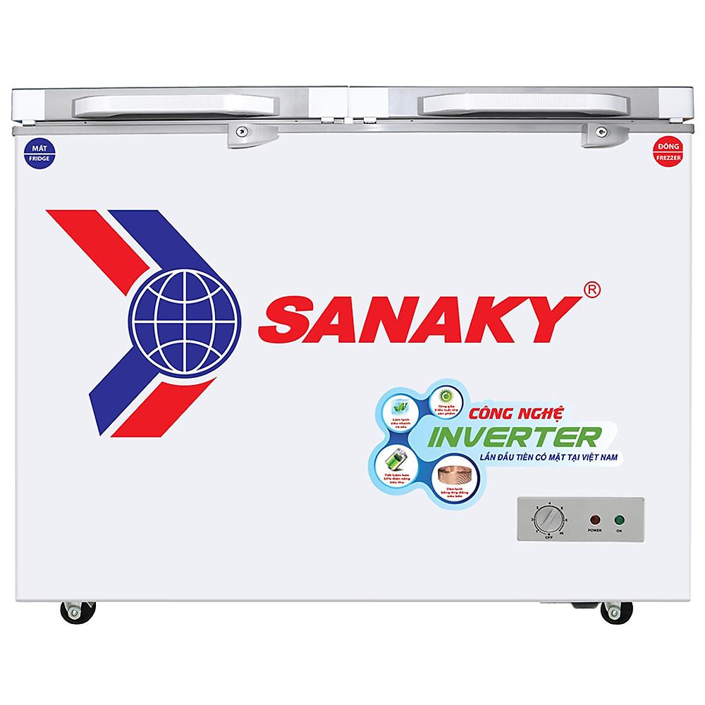 Đánh giá Tủ Đông Kính Cường Lực Inverter Sanaky VH-2899A4K (235L) - Xám - Hàng Chính Hãng - Chỉ Giao tại Hà Nội
