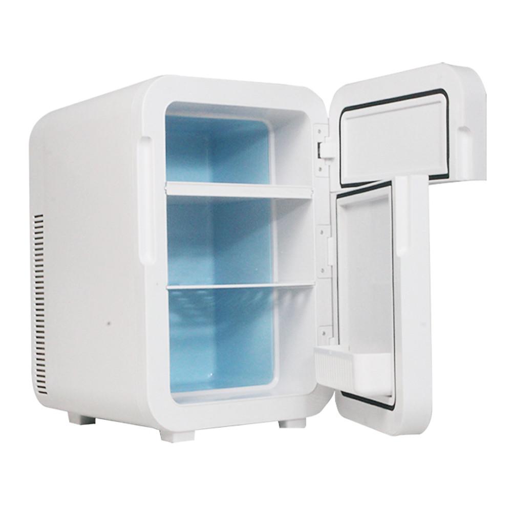 Review Tủ lạnh mini 2 cánh mở bảng điện tử,  3 tầng dung tích 20 lít - Hàng chính hãng