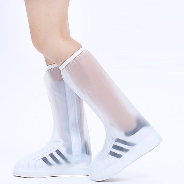 So Sánh Giá Ủng, Túi PVC Bọc Giày Đi Mưa Cao Cổ Có Đế Chống Trơn ALUVI TDM02 | Chống Nước, Chổng Bẩn Tuyệt Đối