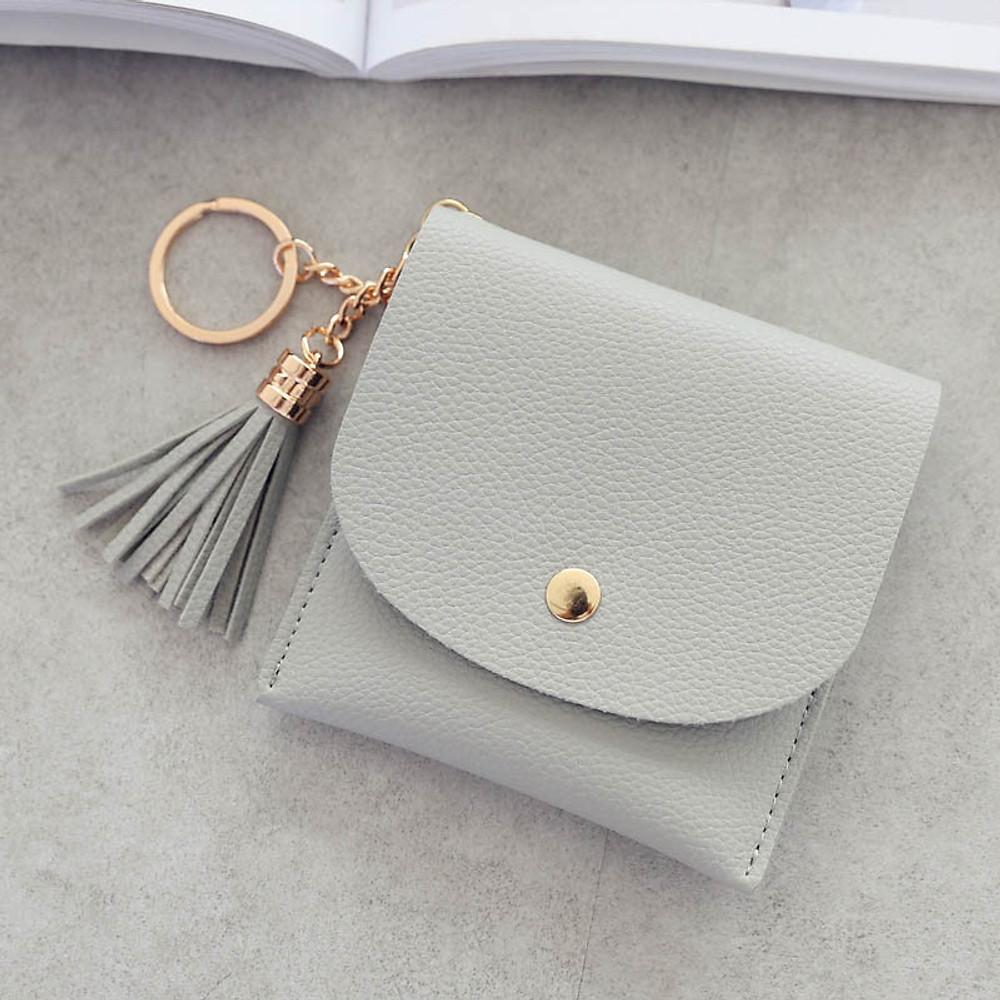 Review Ví mini đựng thẻ và tiền lẻ, thiết kế nhỏ gọn có móc gắn chìa khoá (PK421)