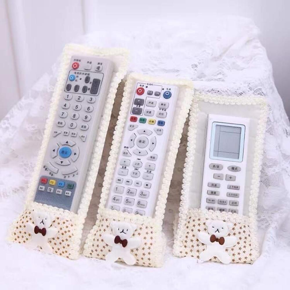 Đánh giá Vỏ bọc bảo vệ điều khiển từ xa hình chú gấu dễ thương, Vỏ silicon bọc remote chống bụi bẩn