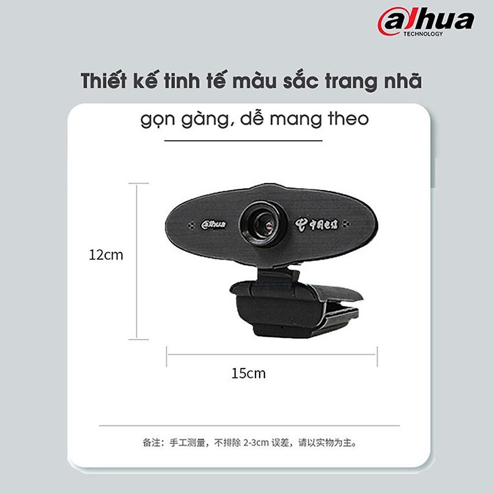 Review  Webcam máy tính Dahua Z2+ Plus HD720 siêu nét Có Micro Hỗ trợ học trực tuyến, họp online, zoom , video call - Hàng Chính Hãng