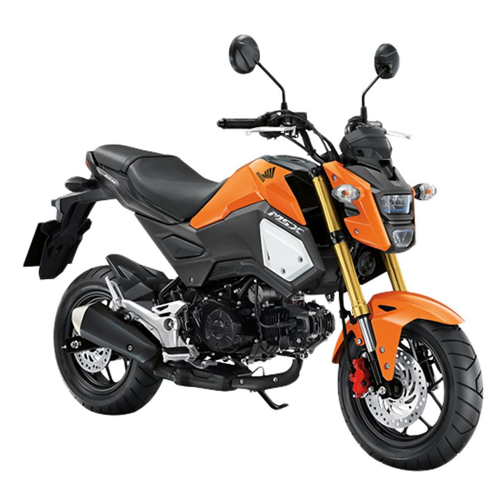 Đánh giá Xe Máy Honda MSX 125cc 2018 (Cam Đen)