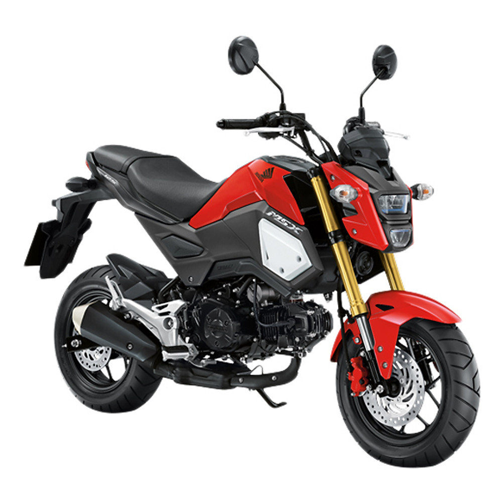 Đánh giá Xe Máy Honda MSX 125cc 2018 (Đỏ Đen)