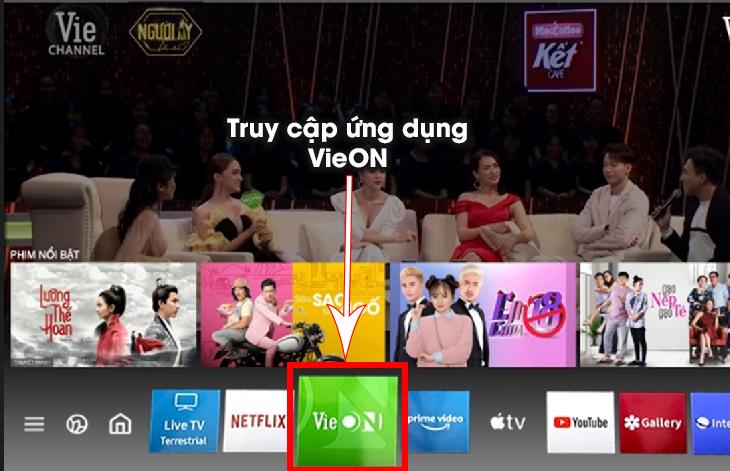 Hướng dẫn kích hoạt gói khuyến mãi VieOn trên Smart Tivi LG