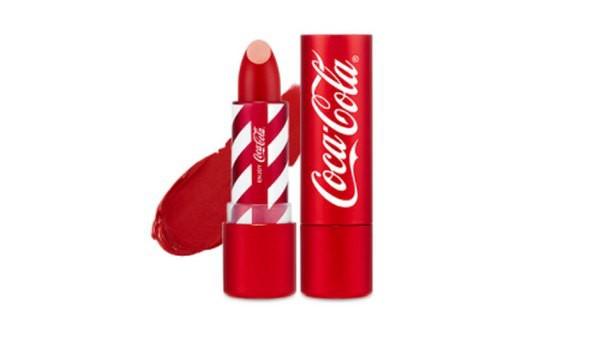 Đánh giá Son The Face Shop Coca Cola Velvet Lipstick