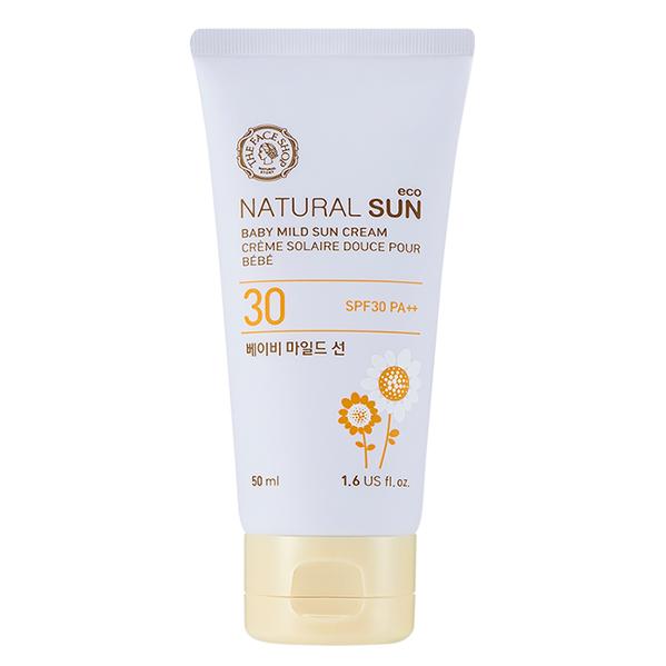 Đánh giá chi tiết Kem Chống Nắng Natural Sun Eco Mild Baby Sun Cream