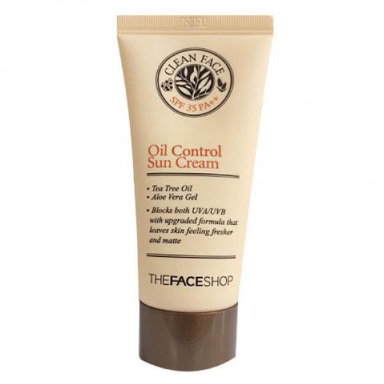 Đánh giá chi tiết Kem Chống Nắng The Face Shop Clean Face Oil Control Sun