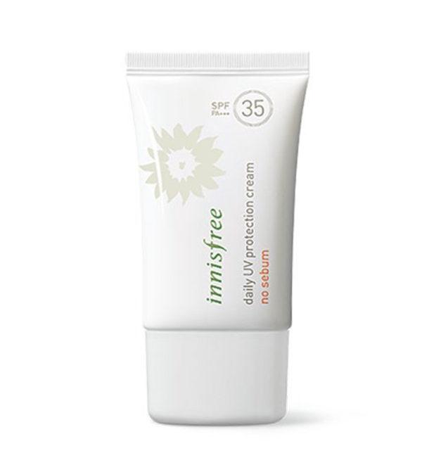So Sánh Giá Kem Chống Nắng Daily UV Protection Cream No Sebum SPF 35 PA+++