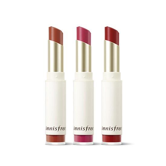 So Sánh Giá Son Innisfree Real Fit Velvet Lipstick