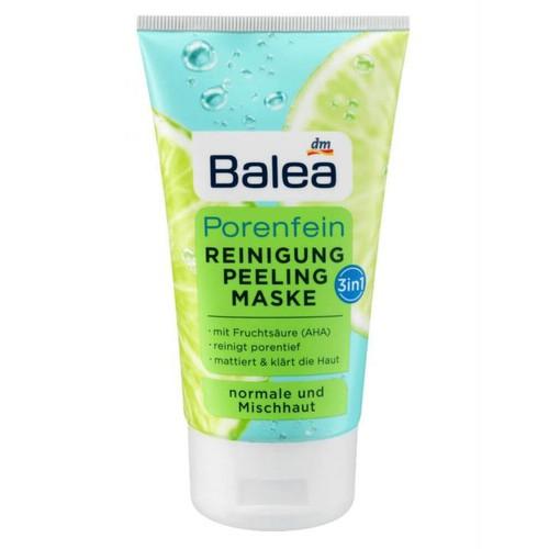 Đánh giá chi tiết Sữa rửa mặt trị mụn Balea Reinigung Peeling Maske